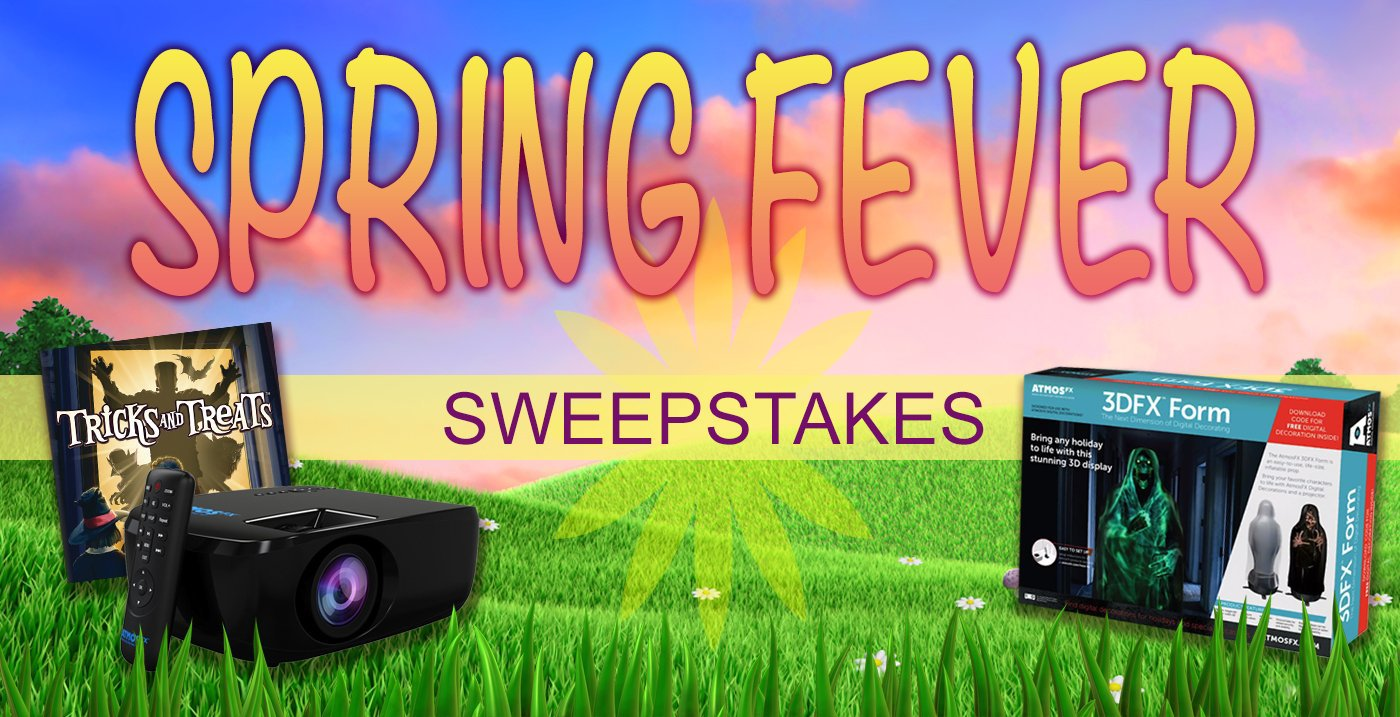 Jump on the Spring Fever 2018 Sweepstakes— It's HOT! | AtmosFX