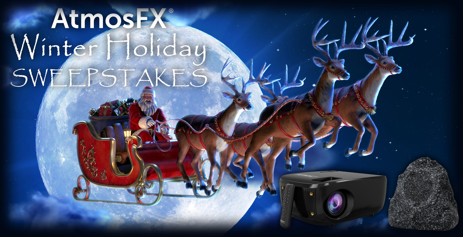 AtmosFX Winter Holiday Sweepstakes | AtmosFX