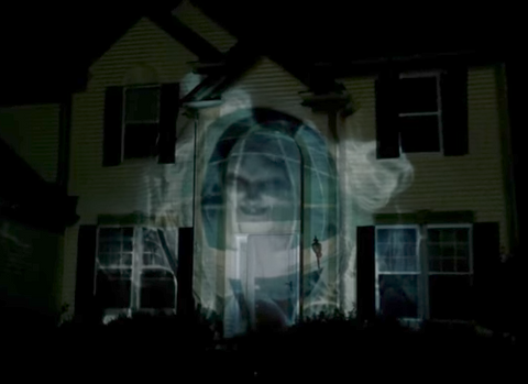 THE BEST HALLOWEEN PROJECTION VIDEO CLIPS DIGITAL DECORATION