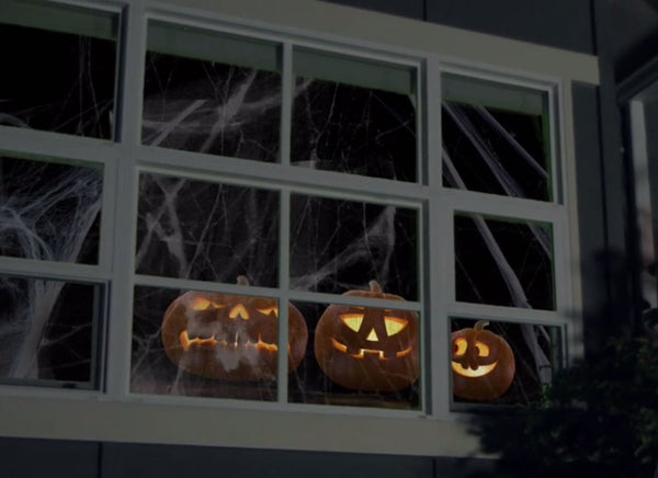 projecting singing pumpkins from jack o lantern jamboree onto your front porch windows is a great way to get up close and personal with your