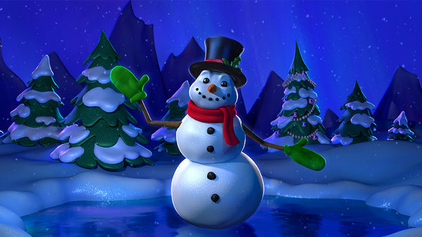 Enchanted Snowman
