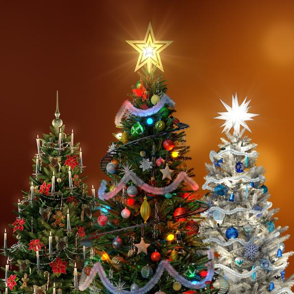 virtual christmas tree atmosfx digital decorations - Christmas Digital Decorations