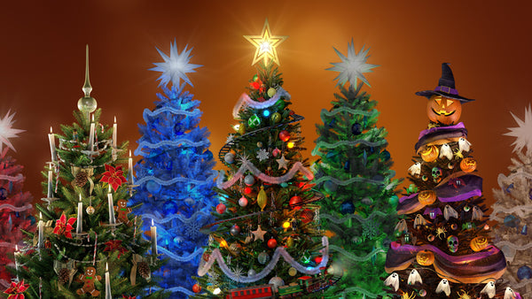 Christmas Tree Decorated.Virtual Christmas Tree Atmosfx Digital Decorations