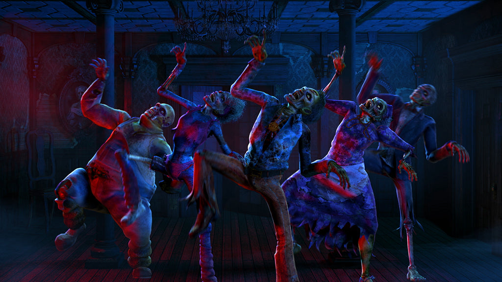 Zombie Chiller Dance - AtmosFX Digital Decorations