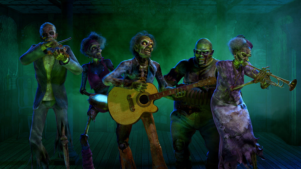 Zombie Hootenanny - AtmosFX Digital Decorations