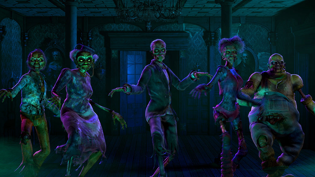 Zombie Twist Dance - AtmosFX Digital Decorations