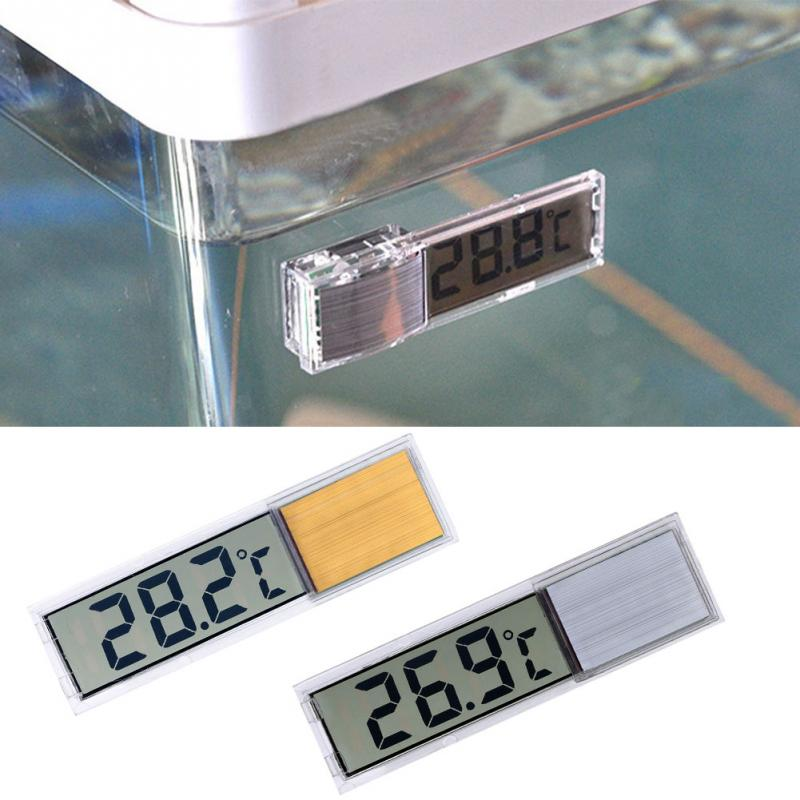 3D Digital Electronic Aquarium Thermometer . - giftsforrpets