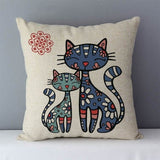 Cat Decorative Throw Pillows - giftsforrpets