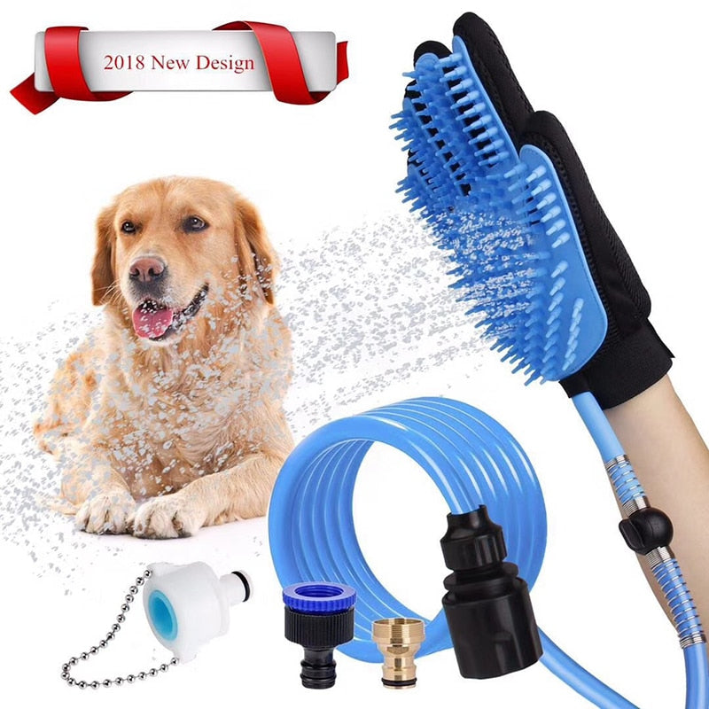 Dog Bath Brush . - giftsforrpets