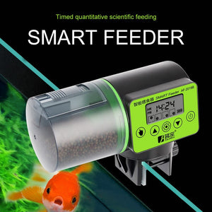2 in 1 Smart Automatic Fish Feeder For Aquarium - giftsforrpets