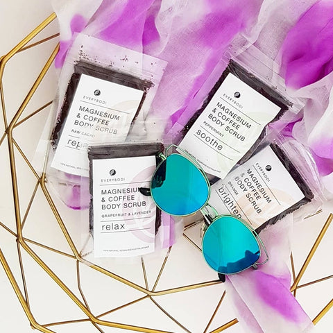 Travel Packs – 4 Mini Scrubs