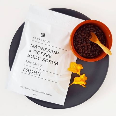 Repair Magnesium & Coffee Scrub
