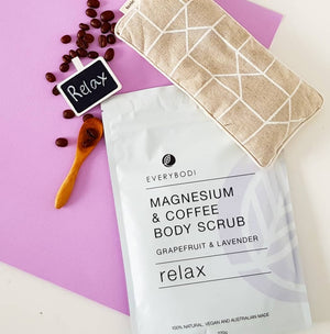 Load image into Gallery viewer, Relax Magnesium & Coffee Scrub