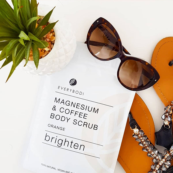Brighten Magnesium & Coffee Scrub