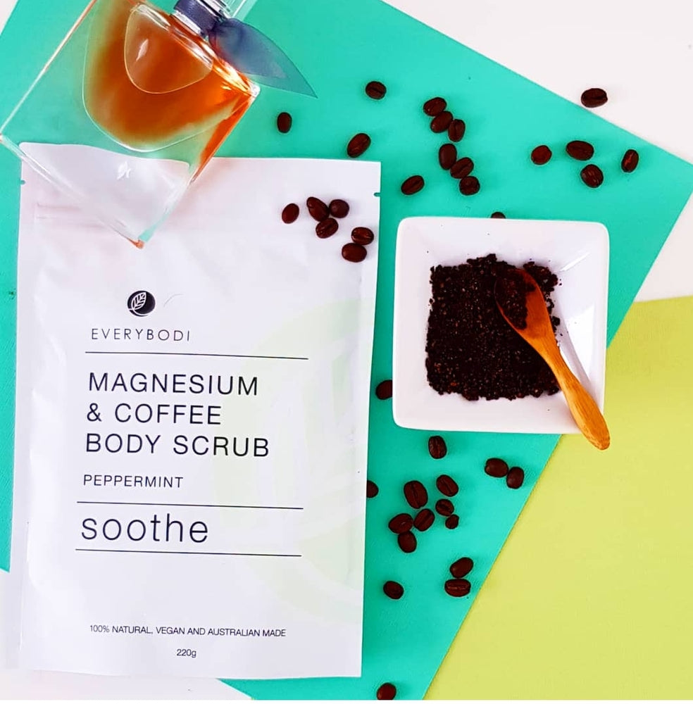 Load image into Gallery viewer, Soothe Magnesium & Coffee Scrub