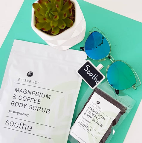 Soothe Magnesium & Coffee Scrub