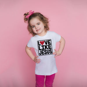 Love Like Jesus Kids T-shirts - SimplyInspireNow