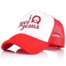Load image into Gallery viewer, I LOVE JESUS Trucker Hats - SimplyInspireNow