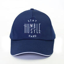 Load image into Gallery viewer, Stay Humble Hustle Hard Baseball Cap - SimplyInspireNow