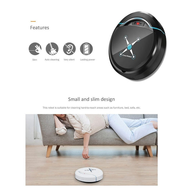Automatic Smart Robot Vacuum Cleaner - Elite Worldwide Co