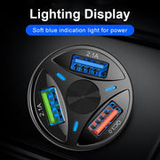 Car USB Fast Mobile Phone Charger - Elite Worldwide Co