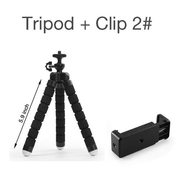 Flexible Octopus Mini Tripod Stand - Elite Worldwide Co