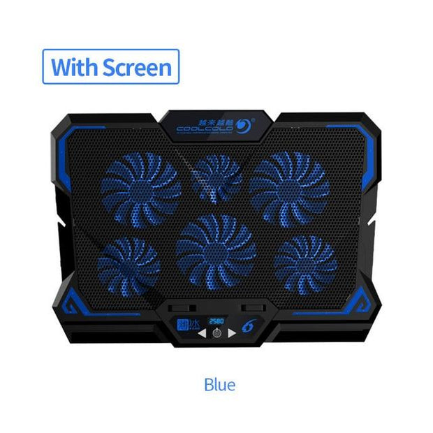 Led Screen Gaming Laptop Cooler - Elite Worldwide Co
