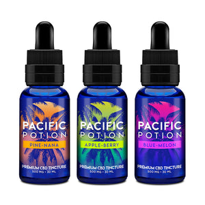 Pacific Potion 250mg CBD Tincture 30mL - Apple-Berry