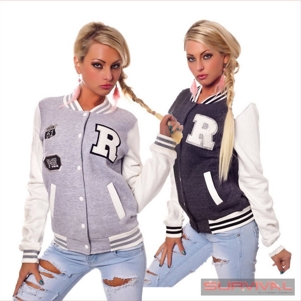 Sports College Style Jacket