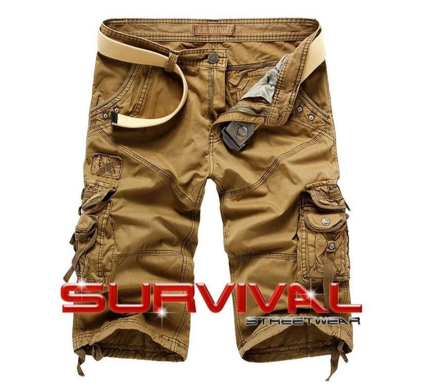 Cargo Long Walk Shorts