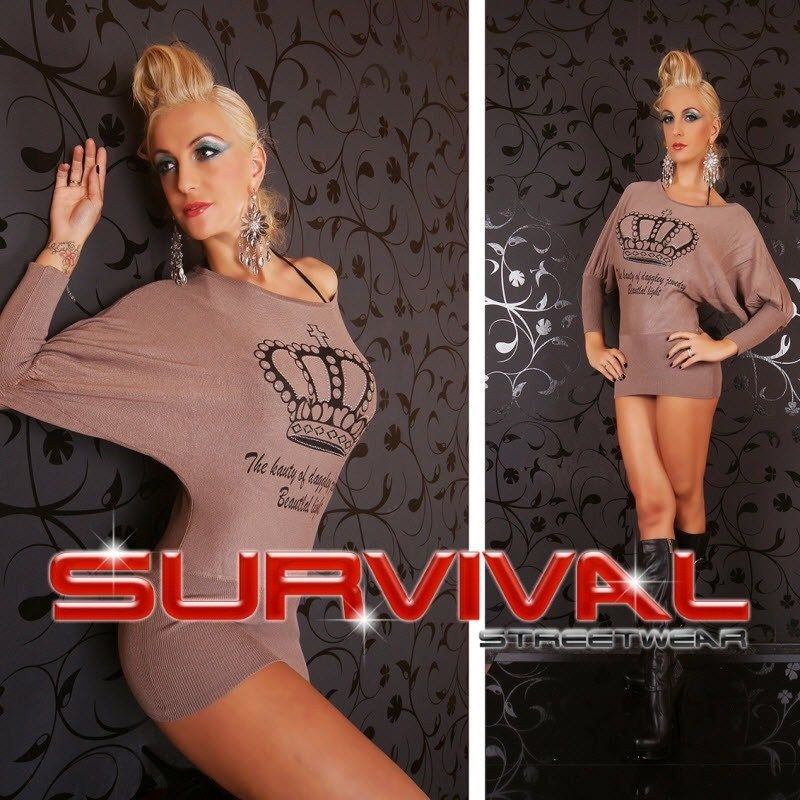 Long Sleeve Batwing Jumper