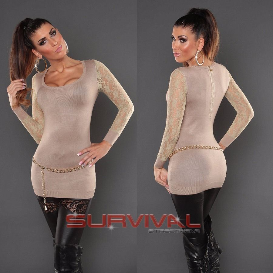 Long Sleeve Round Neck Jumper
