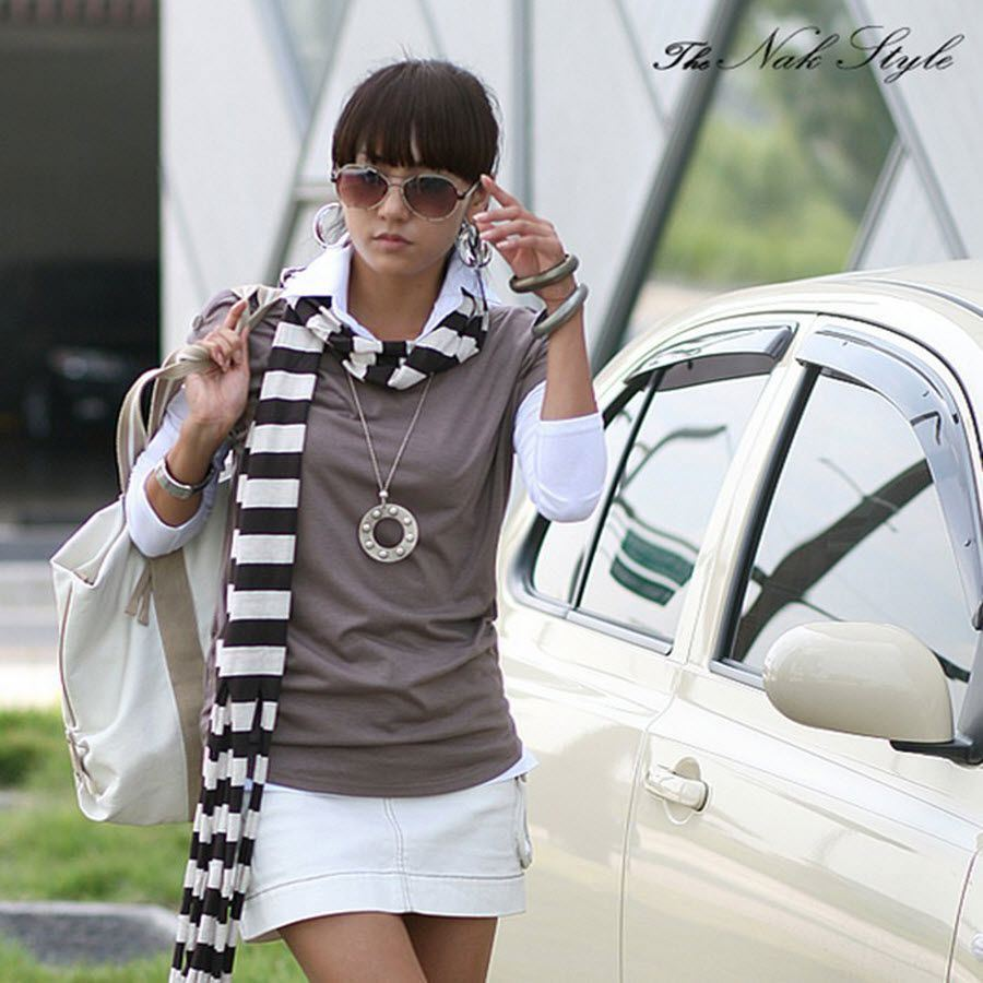 Latte Short Sleeve Blouse Vest