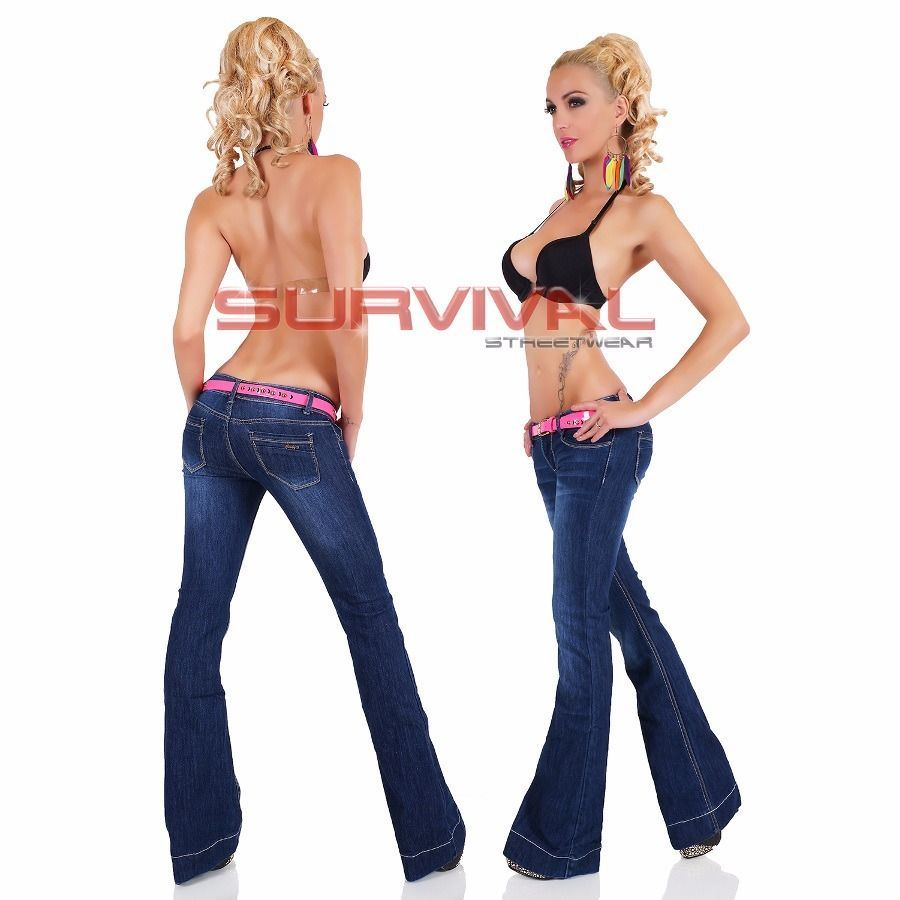 Flare Jeans Wide Leg