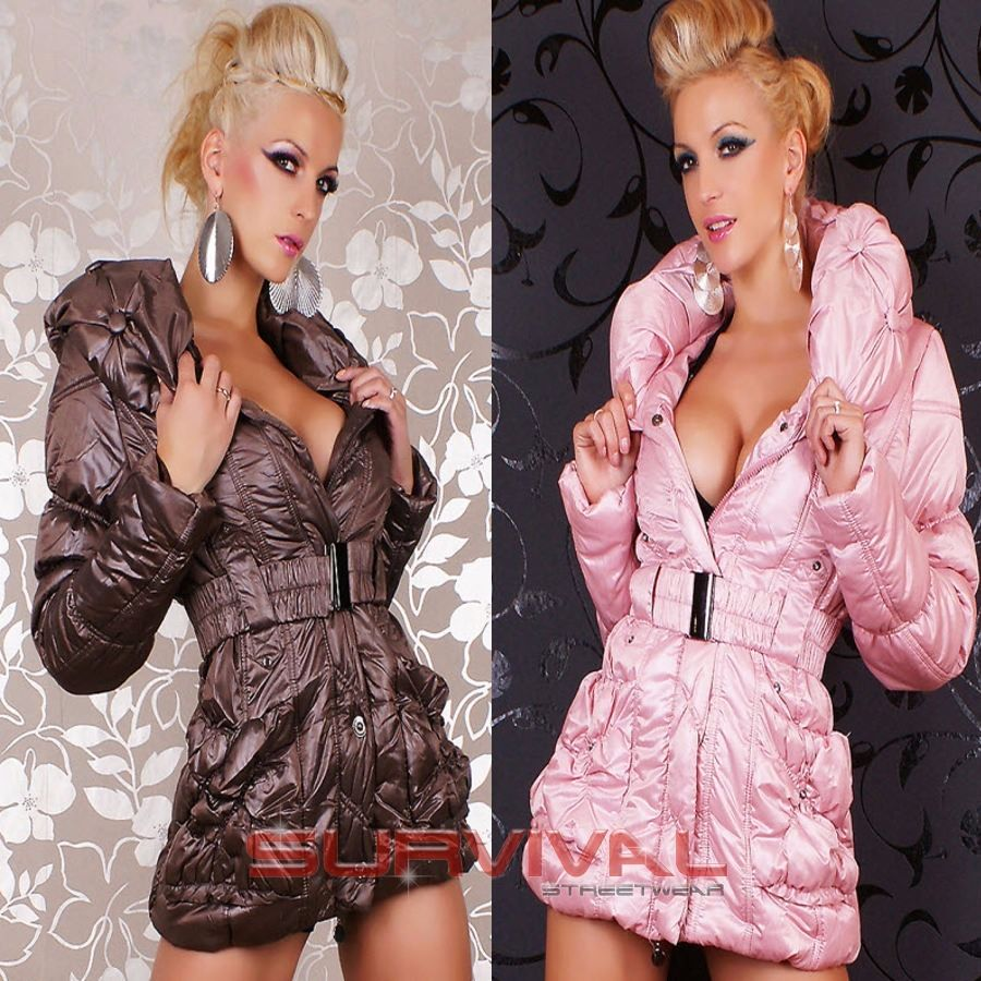Winter Padded Quilted Coat