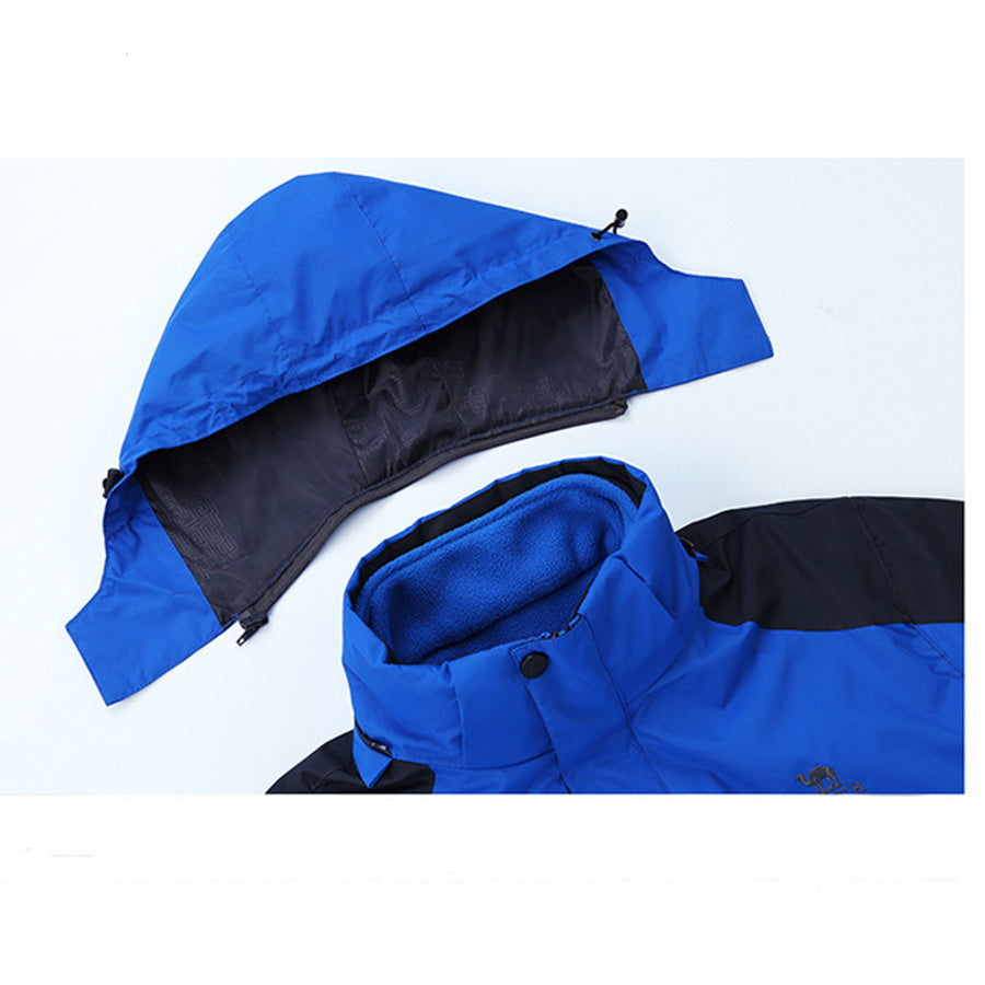 Outdoor Waterproof & Fleece Jacket