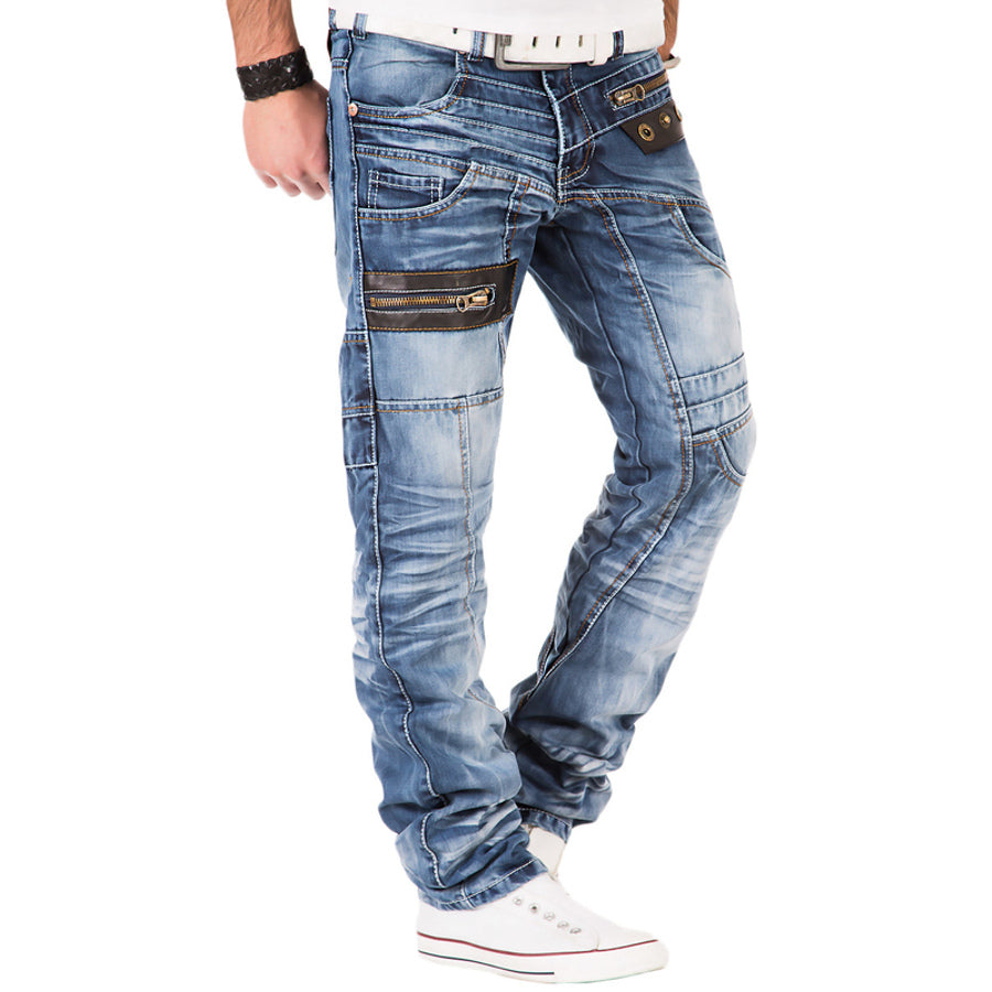 Kosmo Lupo Jeans KM012 Back