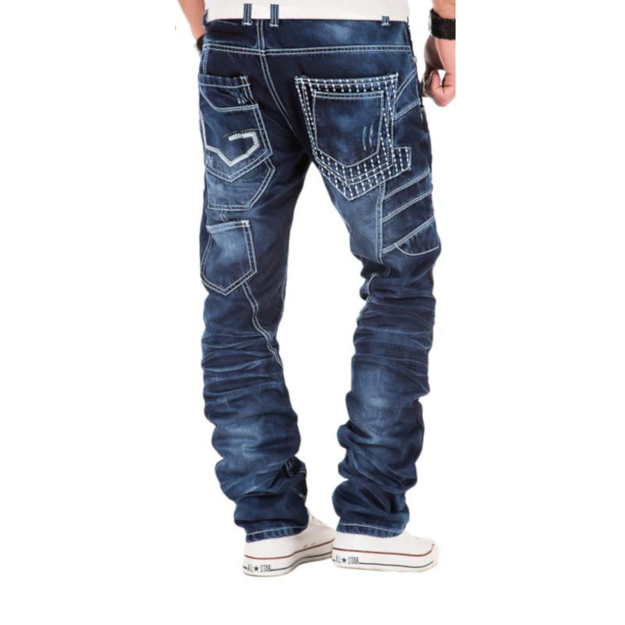Kosmo Lupo Jeans KM040 Back