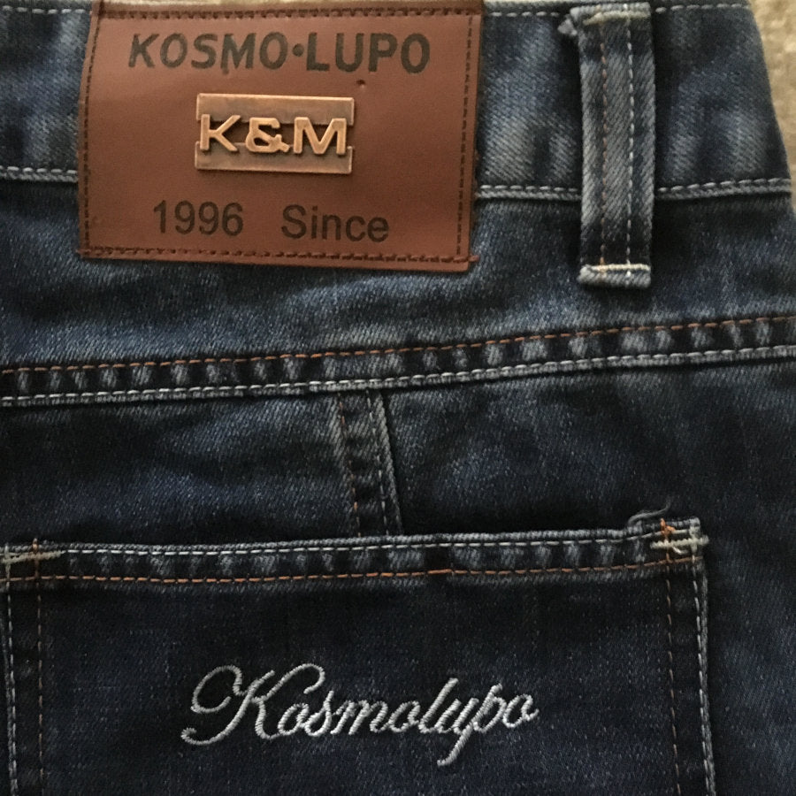 Kosmo Lupo Jeans KM120 Leather Label