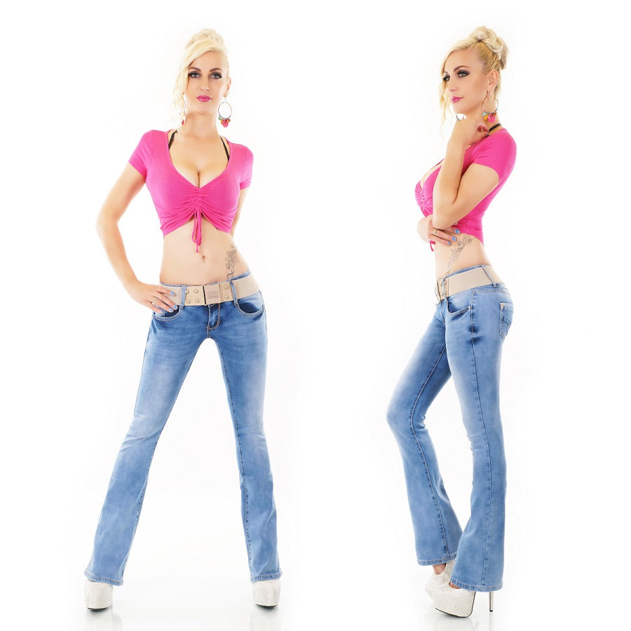 Red Seventy - Blue Bootcut Jeans