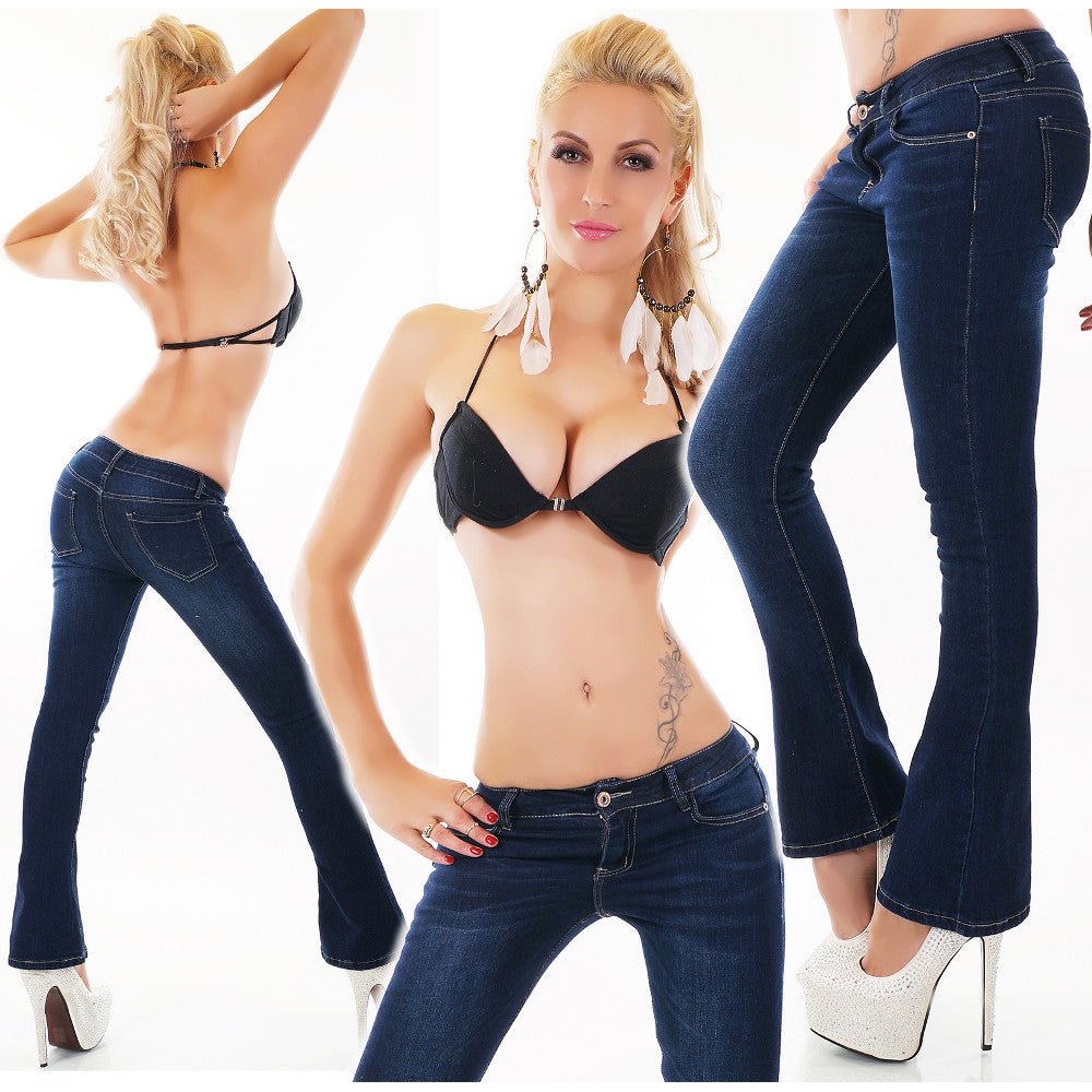 Classic Boot Cut Jeans Short Length