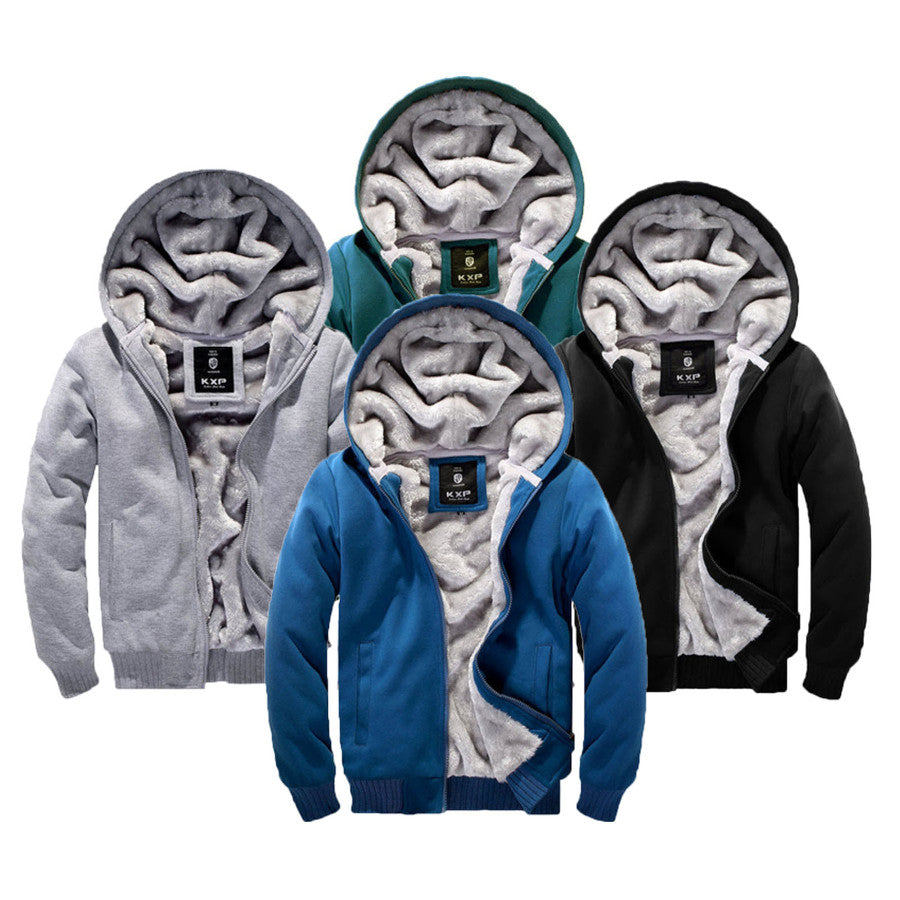 Winter Hoodie Jumper Jacket