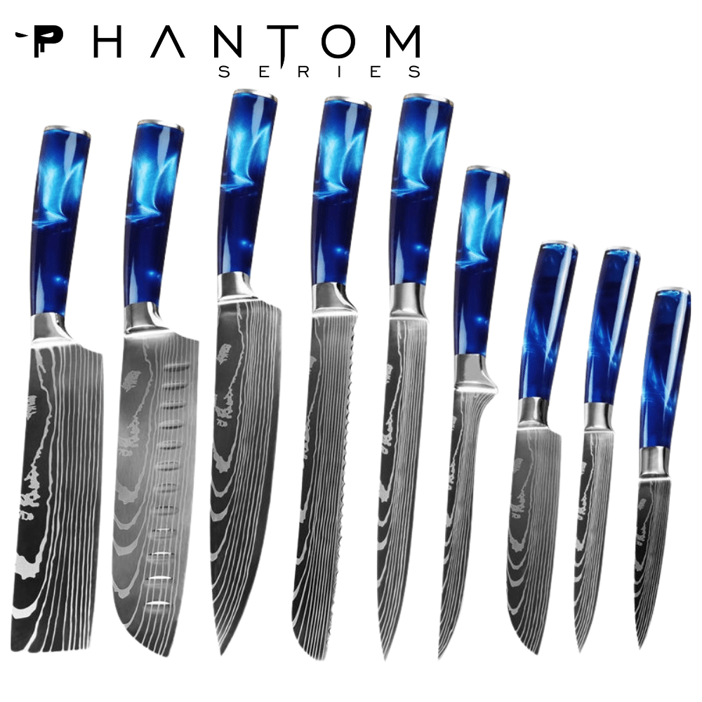 Phantom series - Sapphire Chefs bundle - 9 piece set
