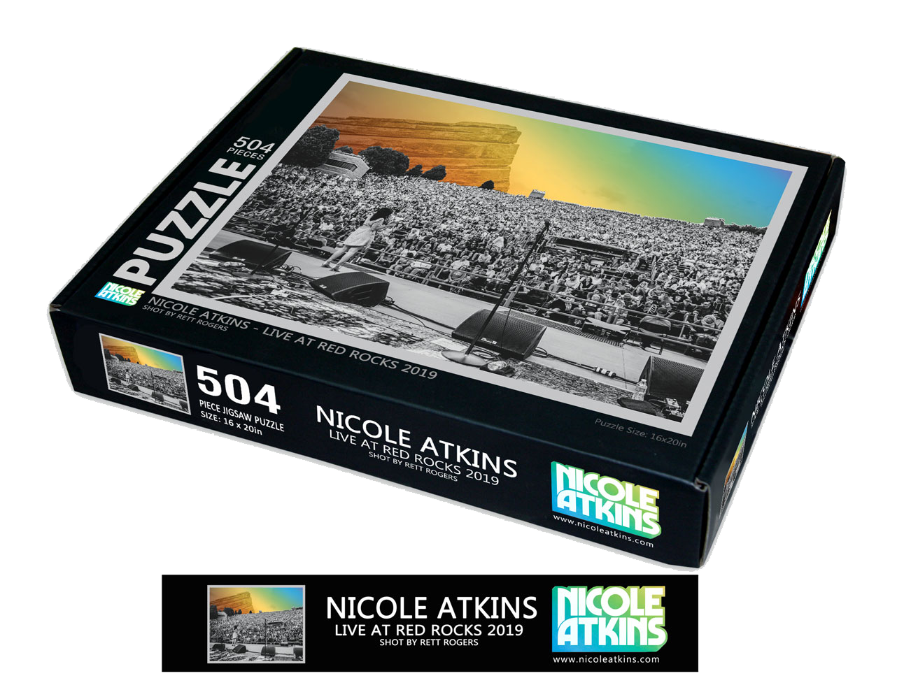 Live at Red Rocks Puzzle (Limited Edition)