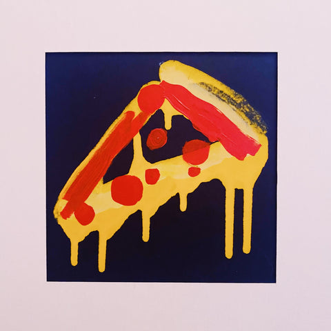 The Perfect Slice Painting (One of a Kind!)