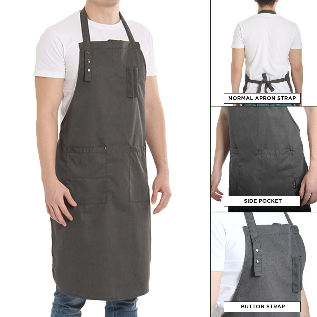 Basil 20.001 Turtle Grey (Long Apron)