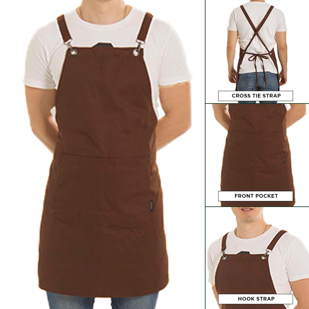 Apron Basil 2020 Brown