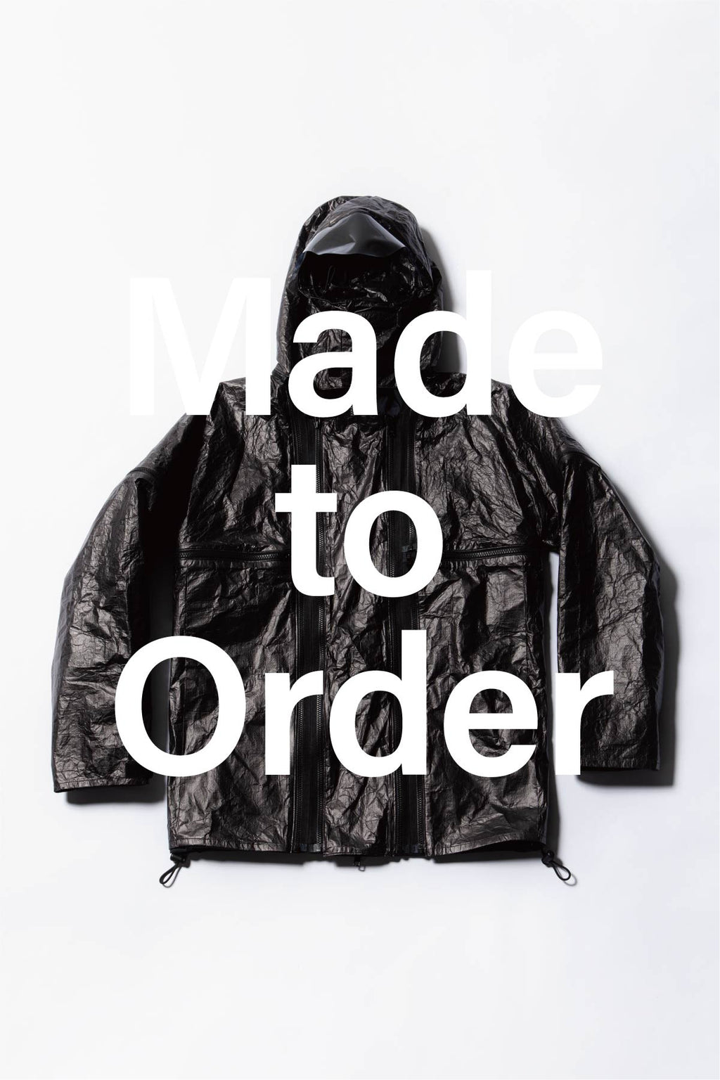 Made to Order Shell jacket + Black tyvek parts Set