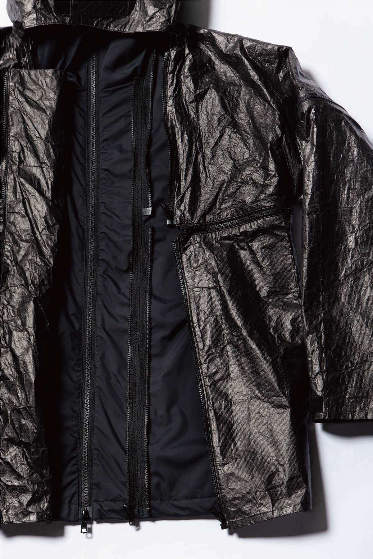 Shell jacket + Black tyvek parts Set
