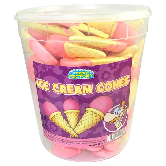 Crazy Candy Factory Ice Cream Cone Tub